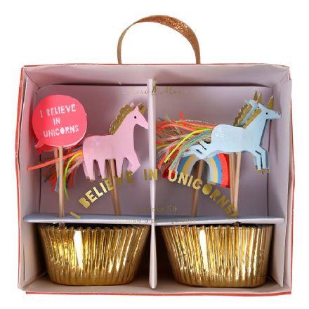 Rainbows and Unicorns Cupcake Kit